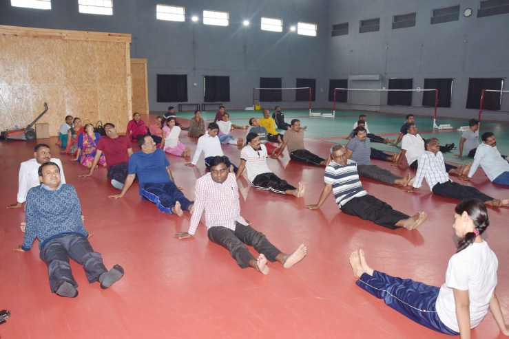 Yoga Day 21  06  2018