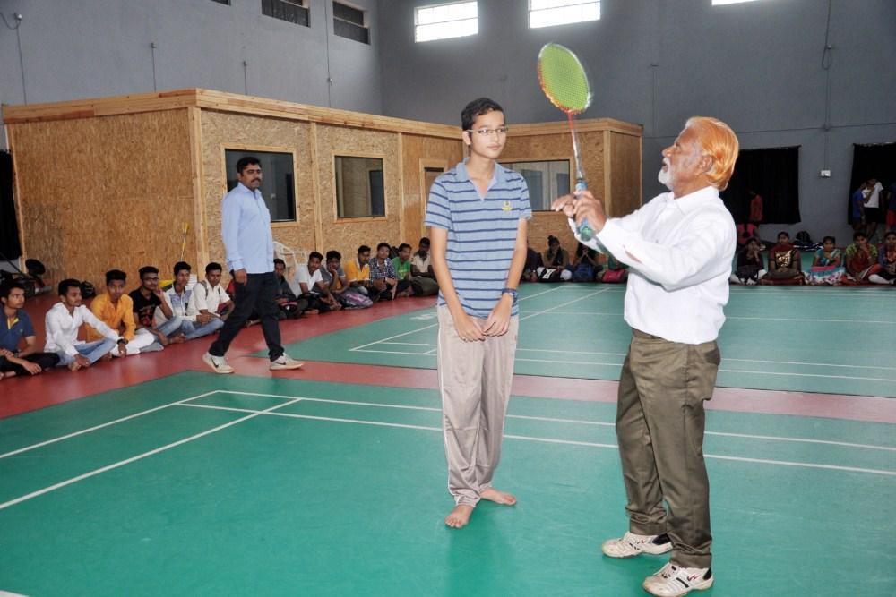 बँडमिंटन प्रशिक्षण शिबीर २०१७-१८  22  09  2017